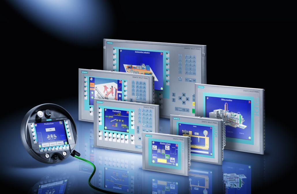 PLC and operator panels